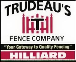 Trudeau's Fence Co logo