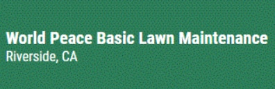 World Peace Basic Lawn Maintenance logo