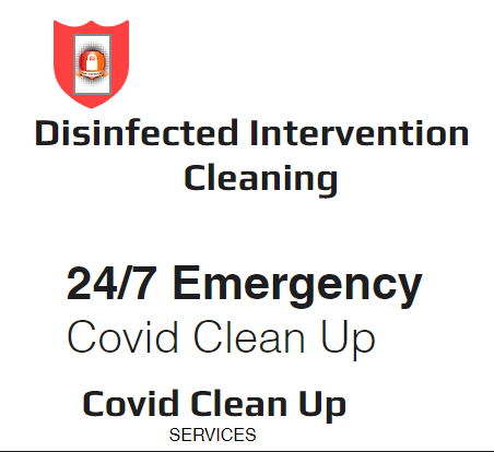 Disinfected Intervention Cleaning logo