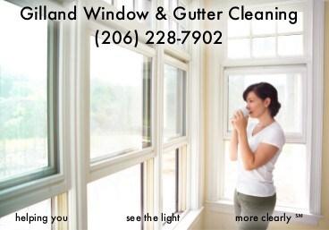 Gilland Window & Gutter Cleaning logo