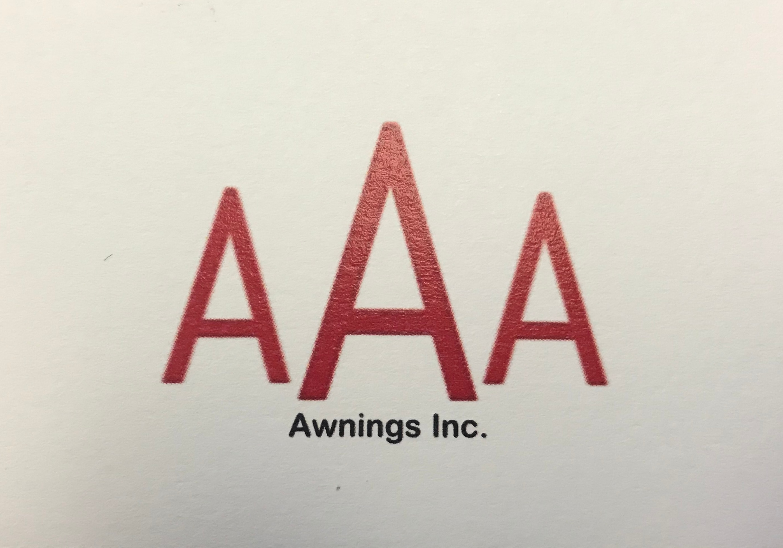 AAA Awnings Inc. logo