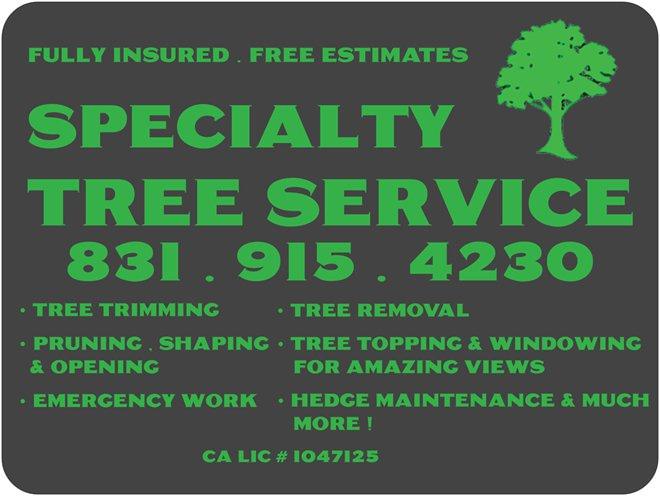 Specialty Tree Service logo