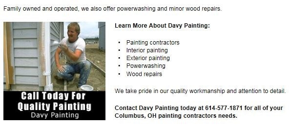 Davy Painting logo