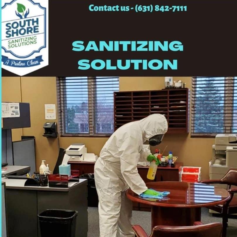 South Shore Sanitizing Solutions, Inc.  logo
