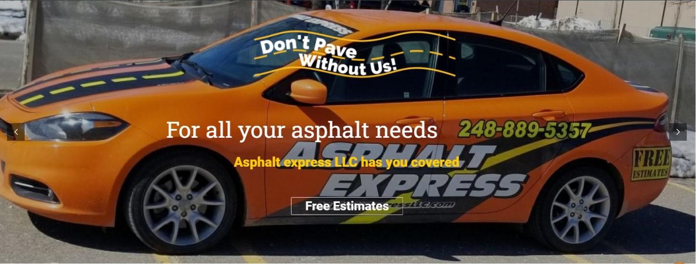 Asphalt Express LLC logo