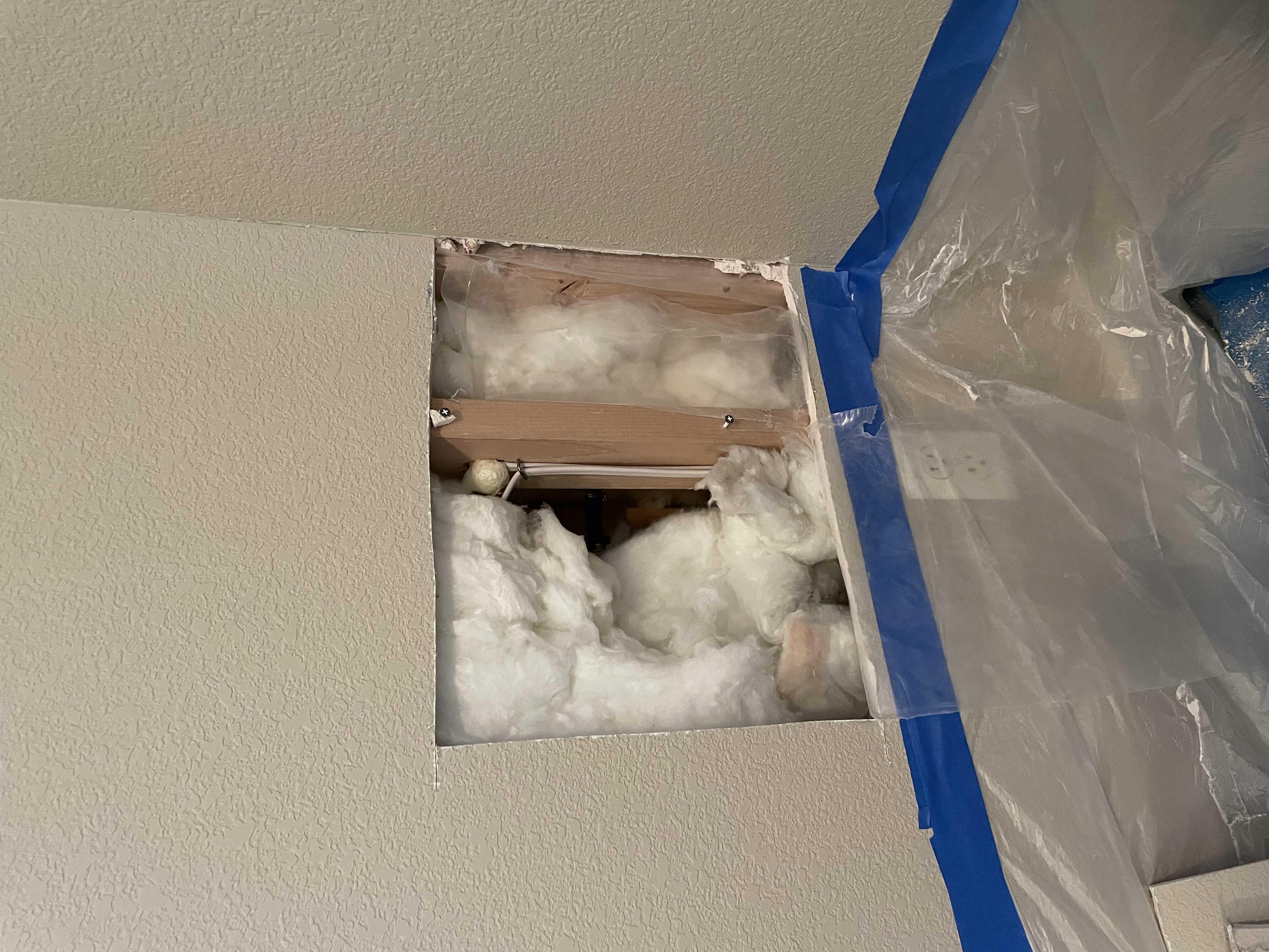 Drywall- Hole repair.