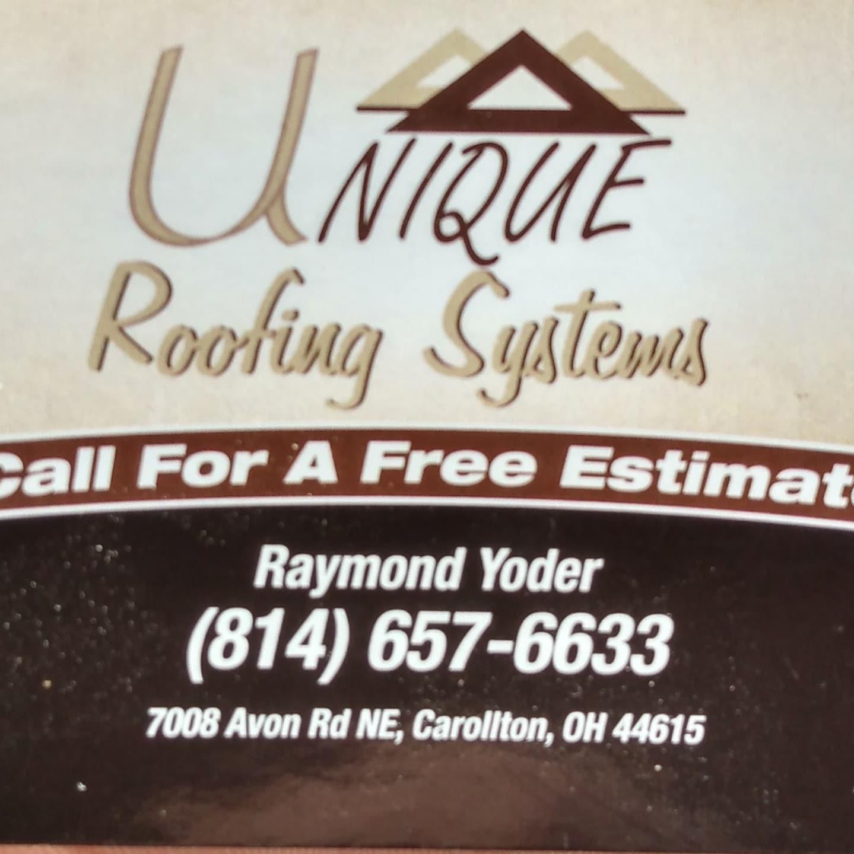 Unique Roofing logo