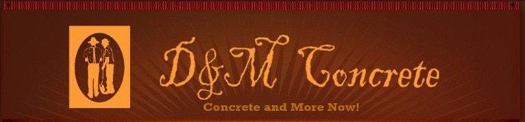 D & M Concrete LLC logo