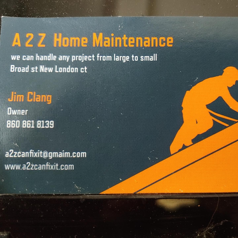 A2Z Home Maintenance services logo