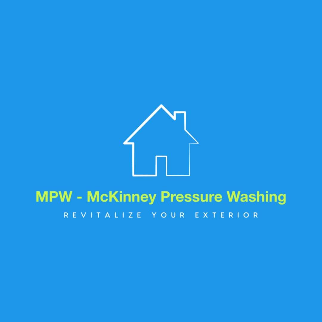 MPW - McKinney Pressure Washing logo