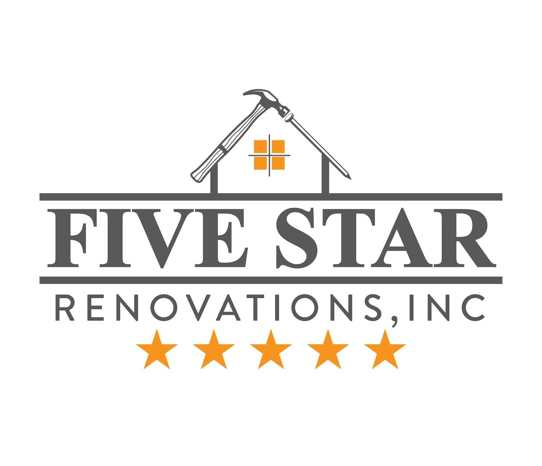 Five Star Renovation logo