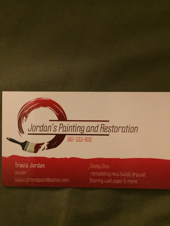 Jordans Painting & Restoration logo