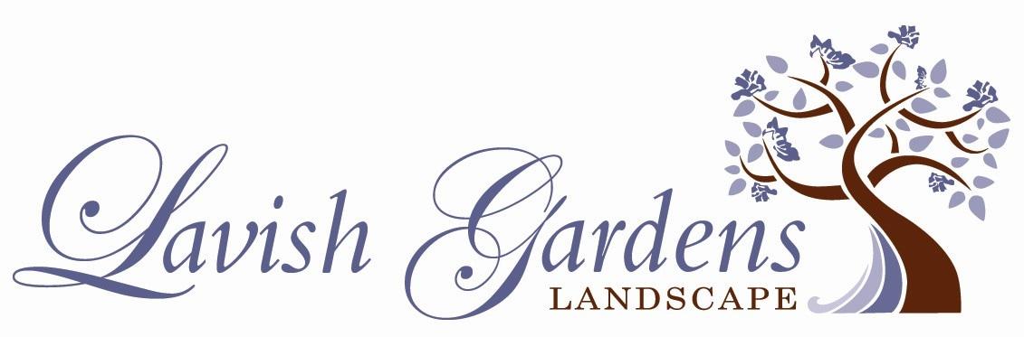 LAVISH GARDENS LANDSCAPE logo