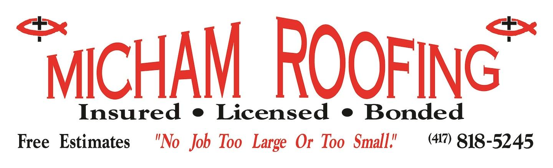 The Micham Roofing Company, LLC logo