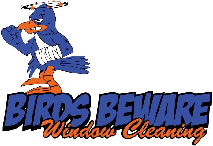 Birds Beware Window Cleaning logo