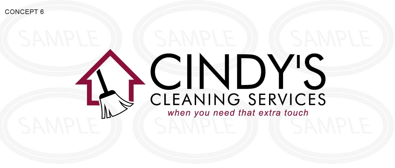 Cindy's Cleaning Service  logo