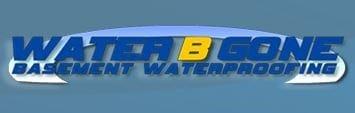 WaterBGone Basement Waterproofing logo