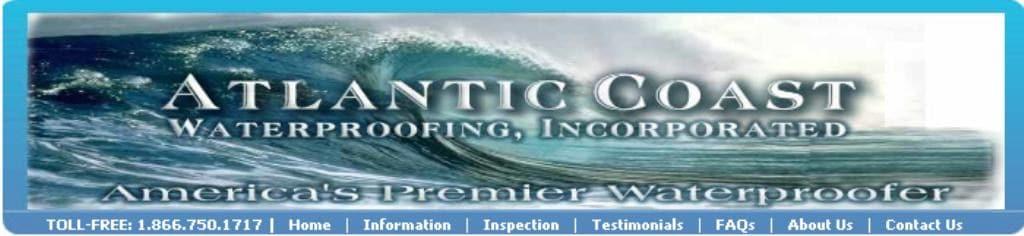 Atlantic Coast Waterproofing Inc logo