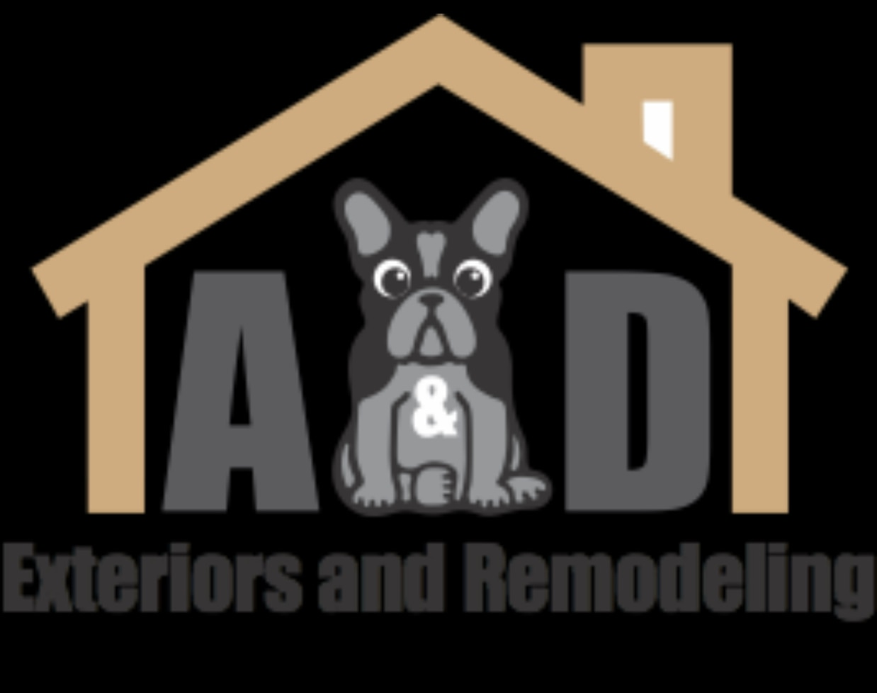 A&D Exteriors and Remodeling logo