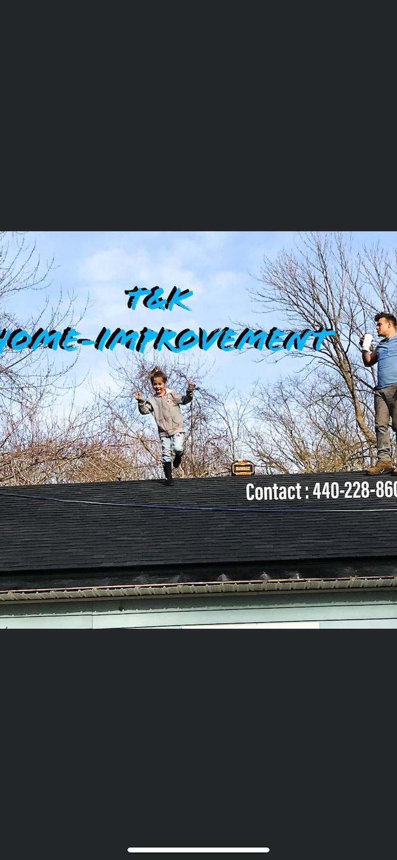 T&K Roofing-HomeImprovement  logo