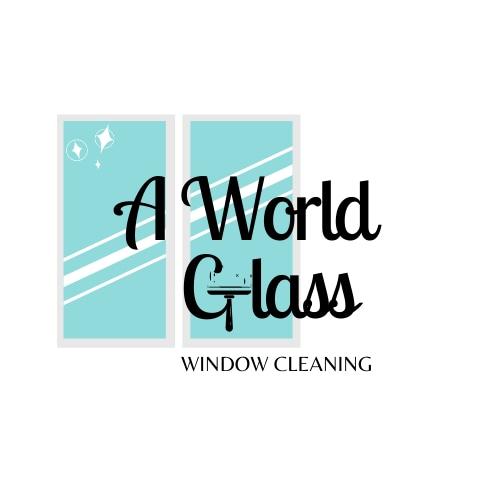 A World Glass logo