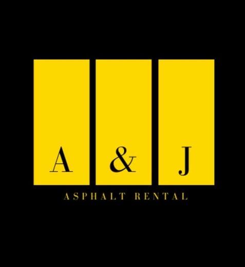 A&J Asphalt Rental logo