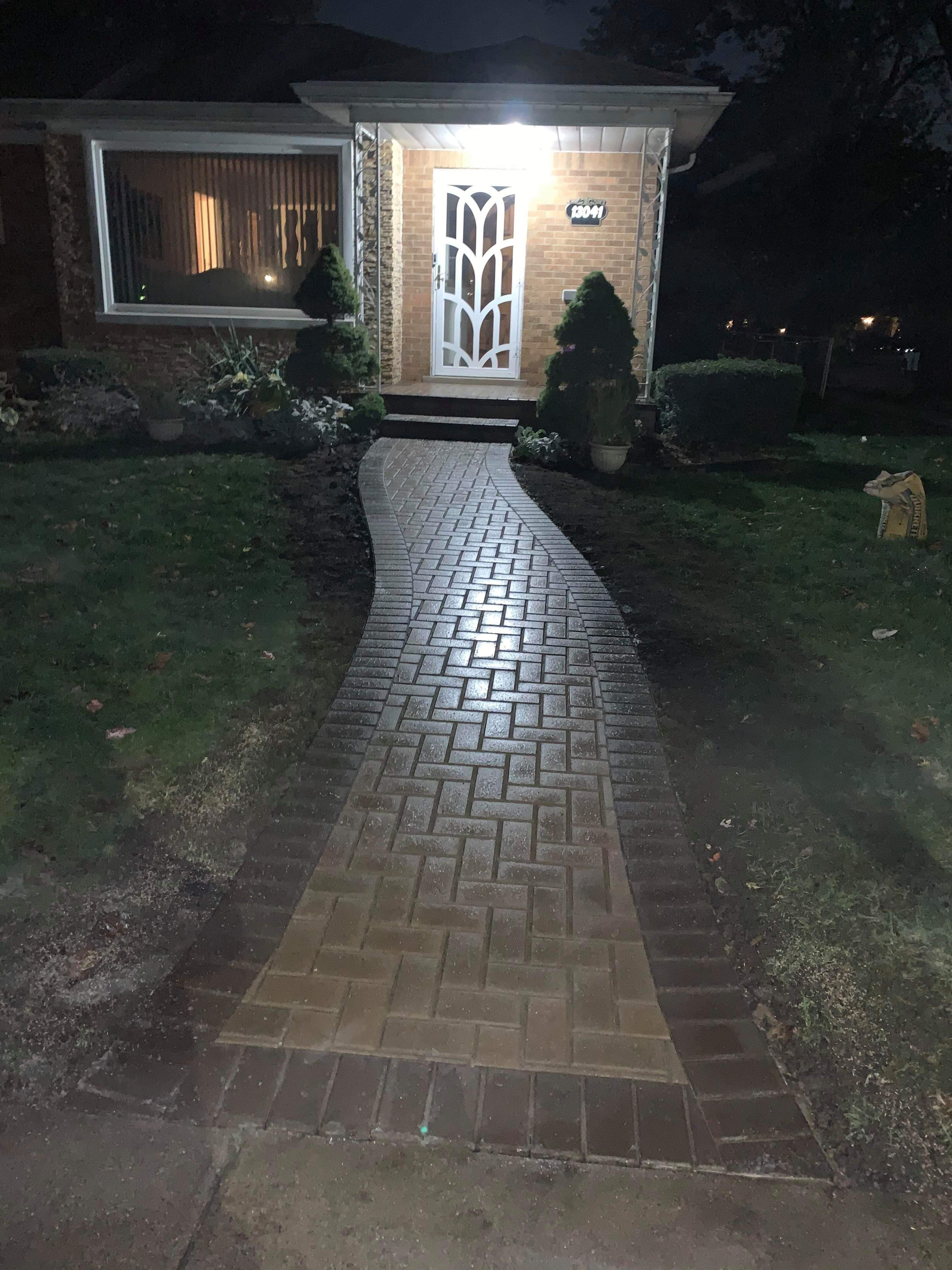 Landscaping - Hardscaping & Pavers Project