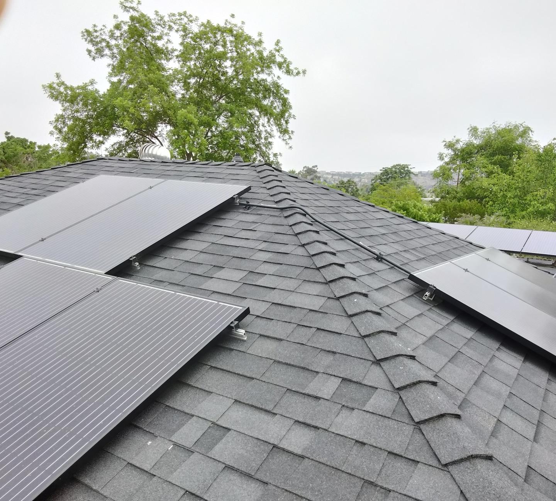 Cleaned Solar Panels