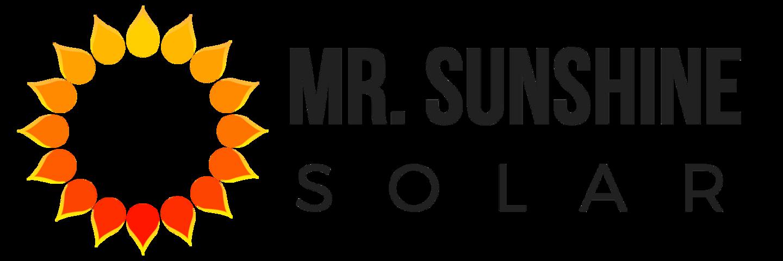Mr. Sunshine Solar  logo