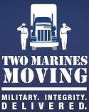 Two Marines Moving logo