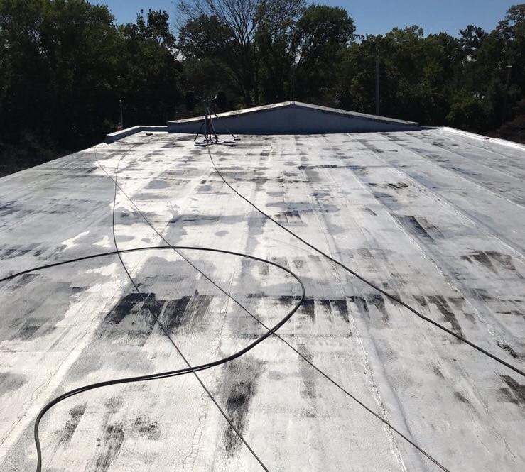 New Roof Coating