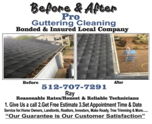 Before & After Pro Gutter Cleaning logo