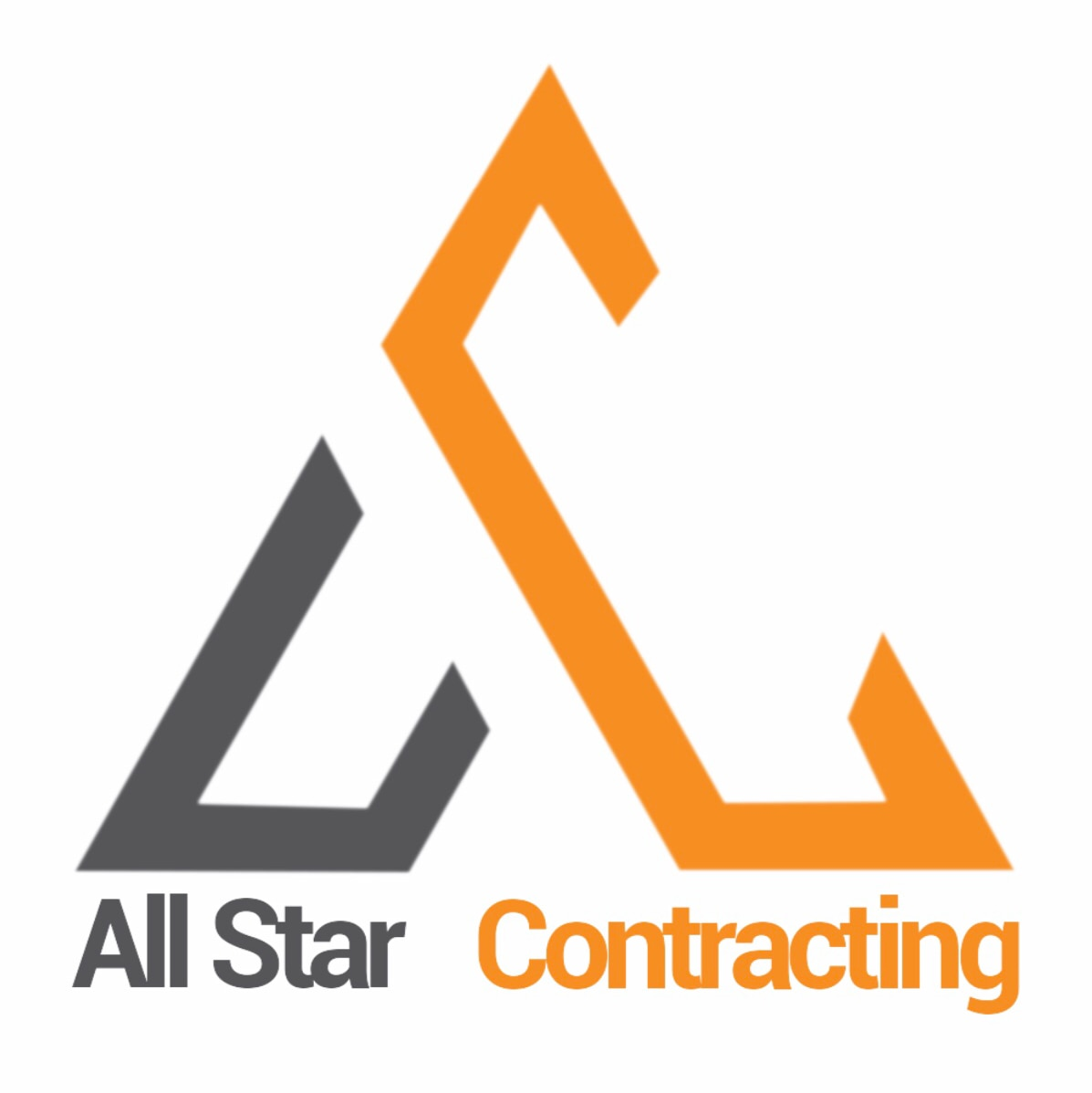 All Star Contracting  logo