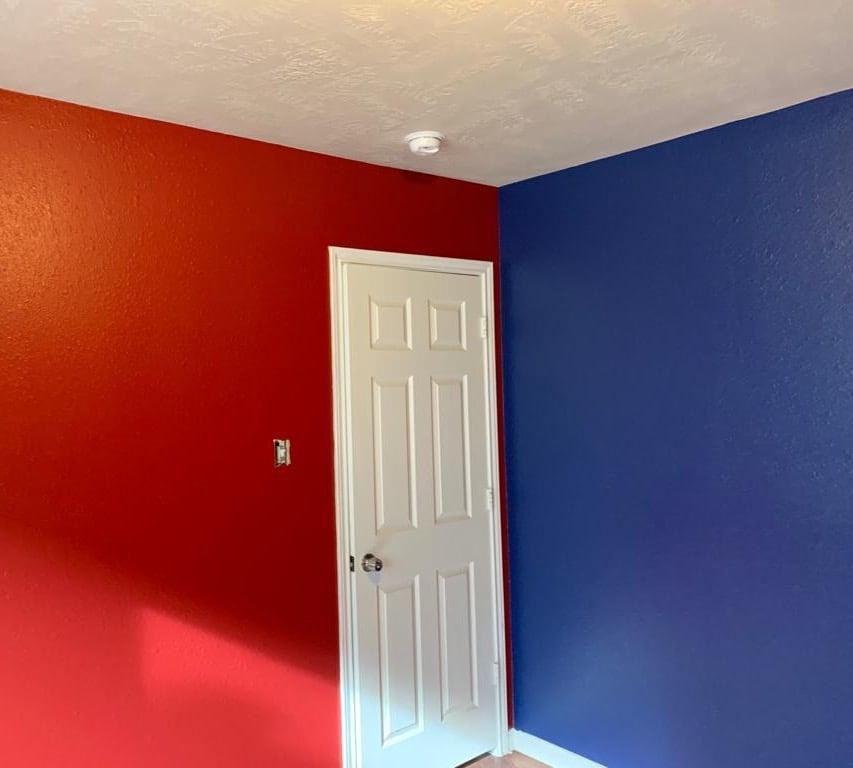 Multi color rooms!