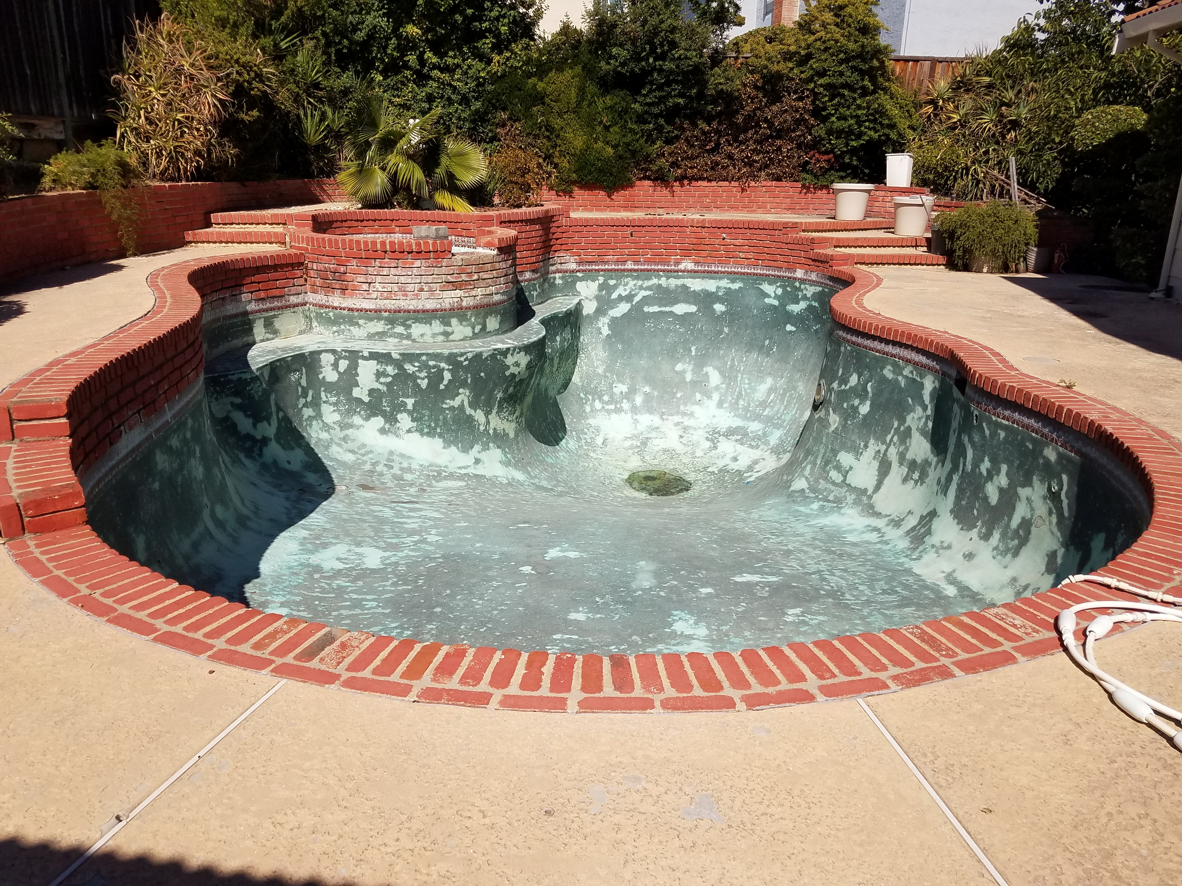Partial Removal of Pool