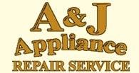 A & J Appliance Repair Service logo