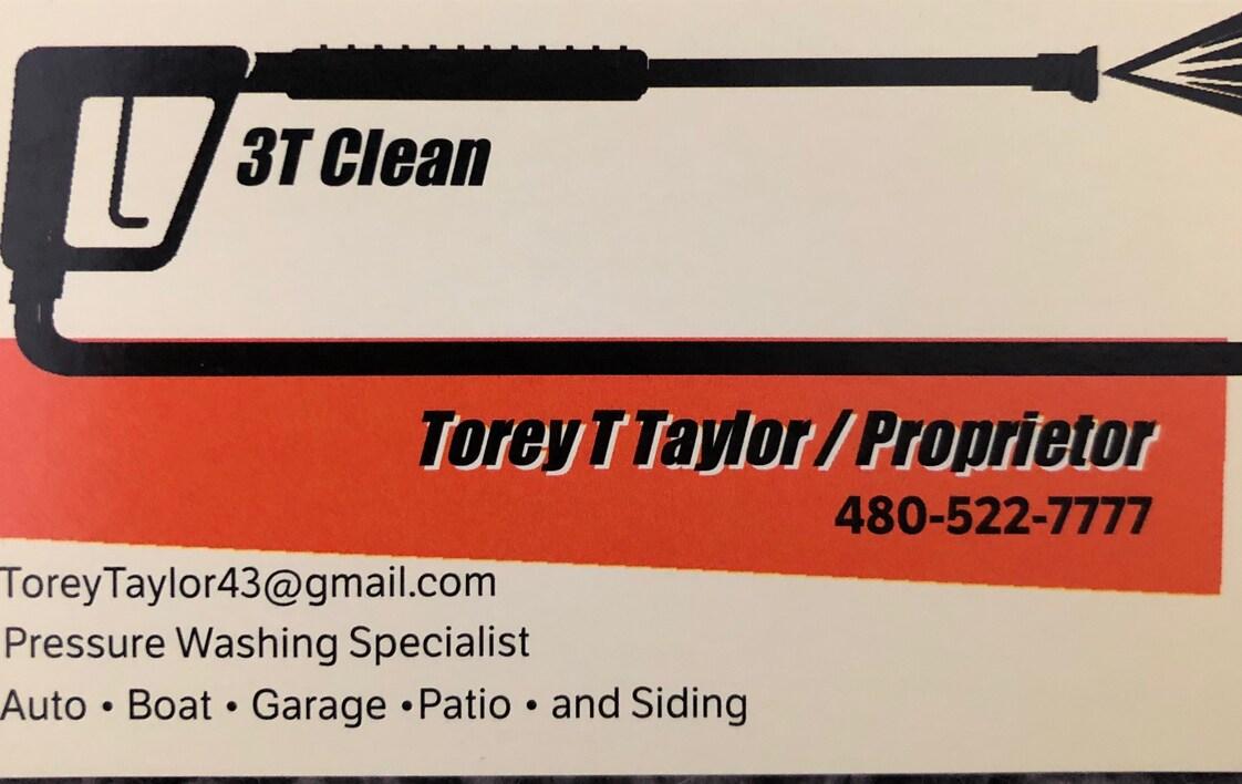 3 T Clean logo