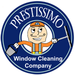 Prestissimo Window Cleaning Company logo