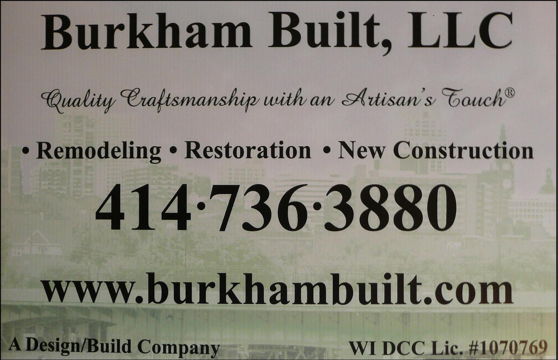 Burkham Built LLC logo