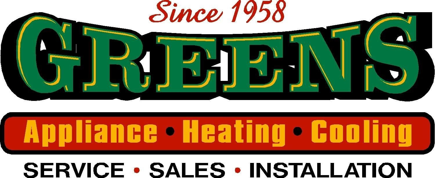 Green's Appliance Heating & Cooling logo