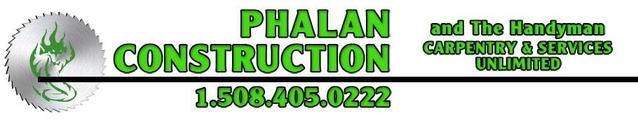 Phalan Construction & The Handyman logo
