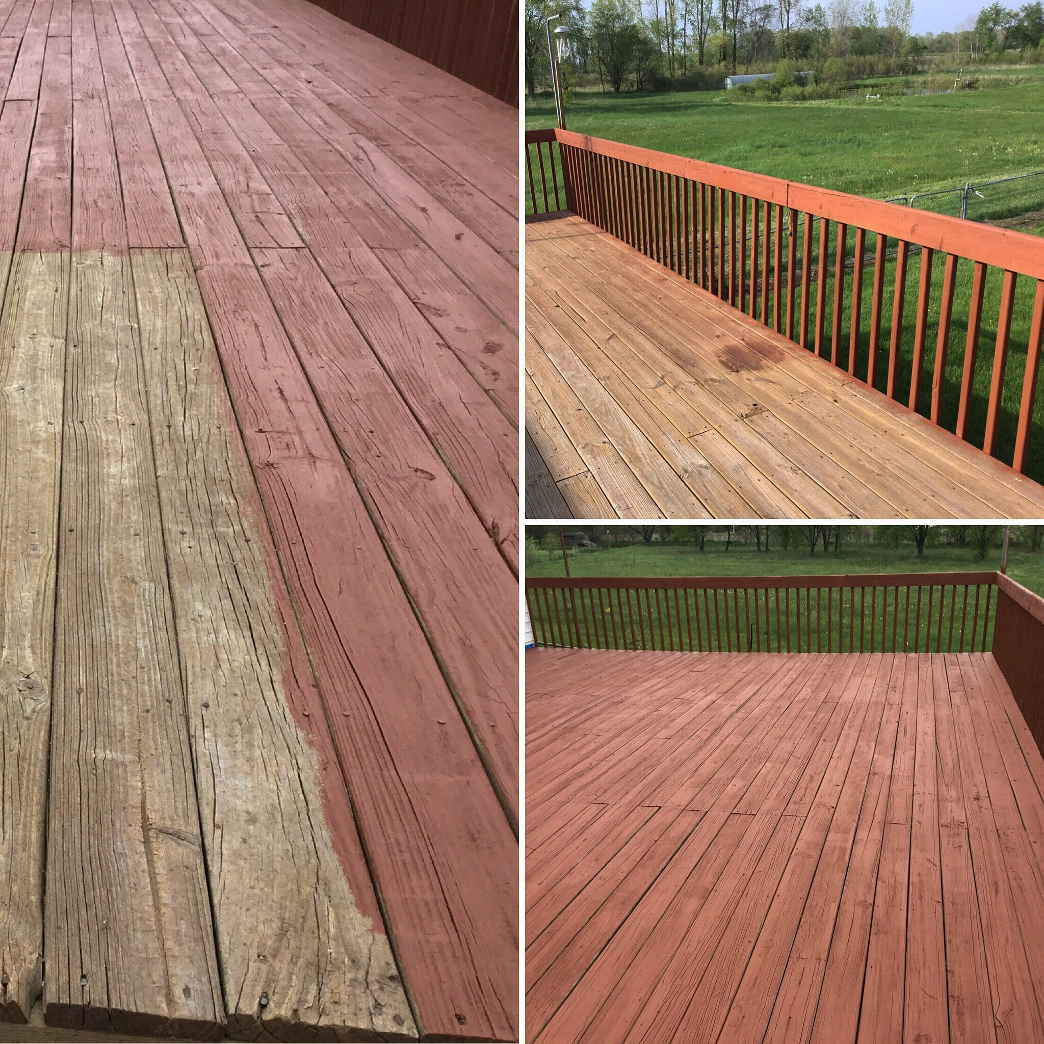 Deck Staining Projects