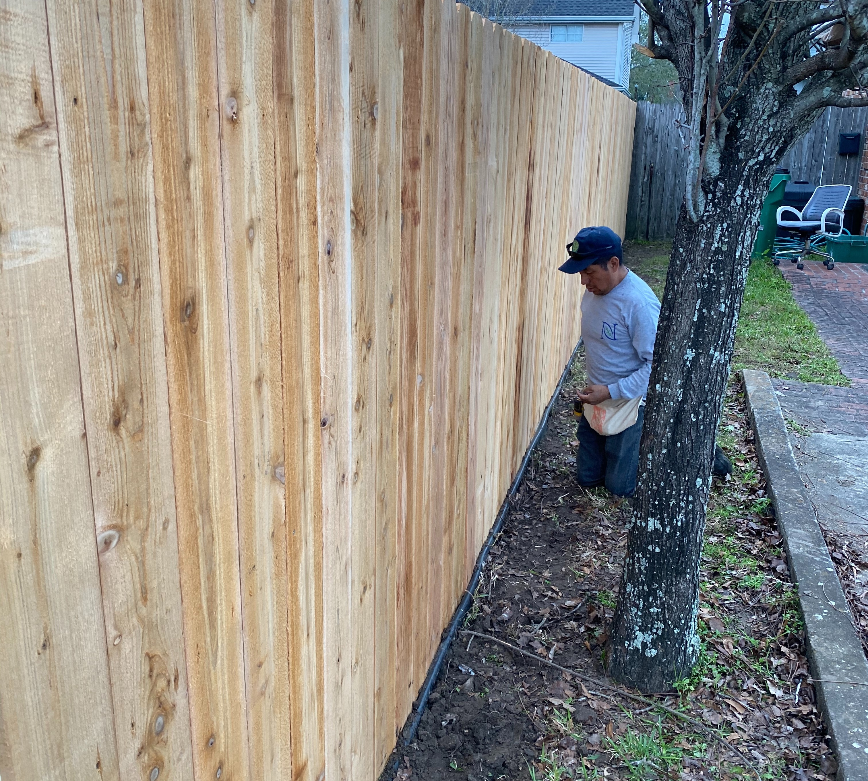 Replace old Fence