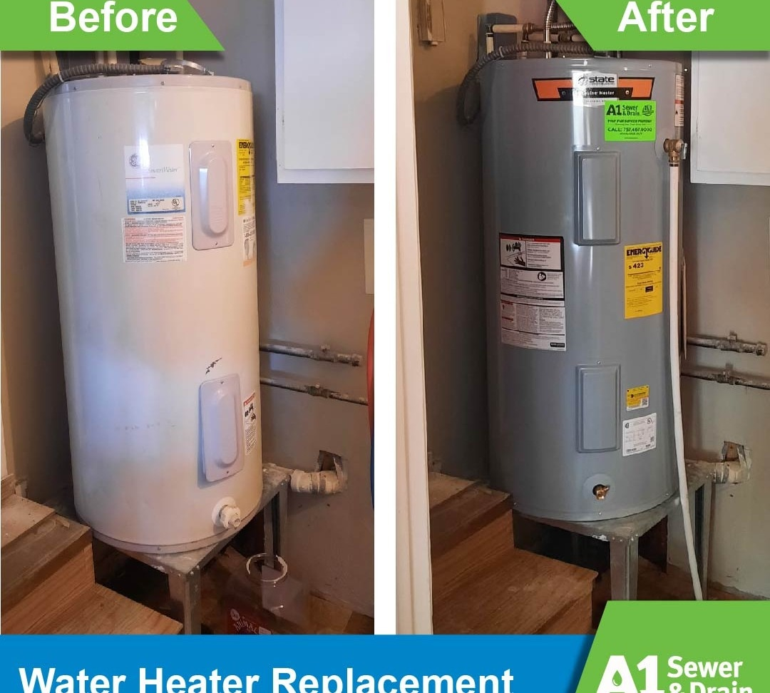 Water Heater Replacement and Install