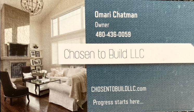 Chosen To Build LLC logo