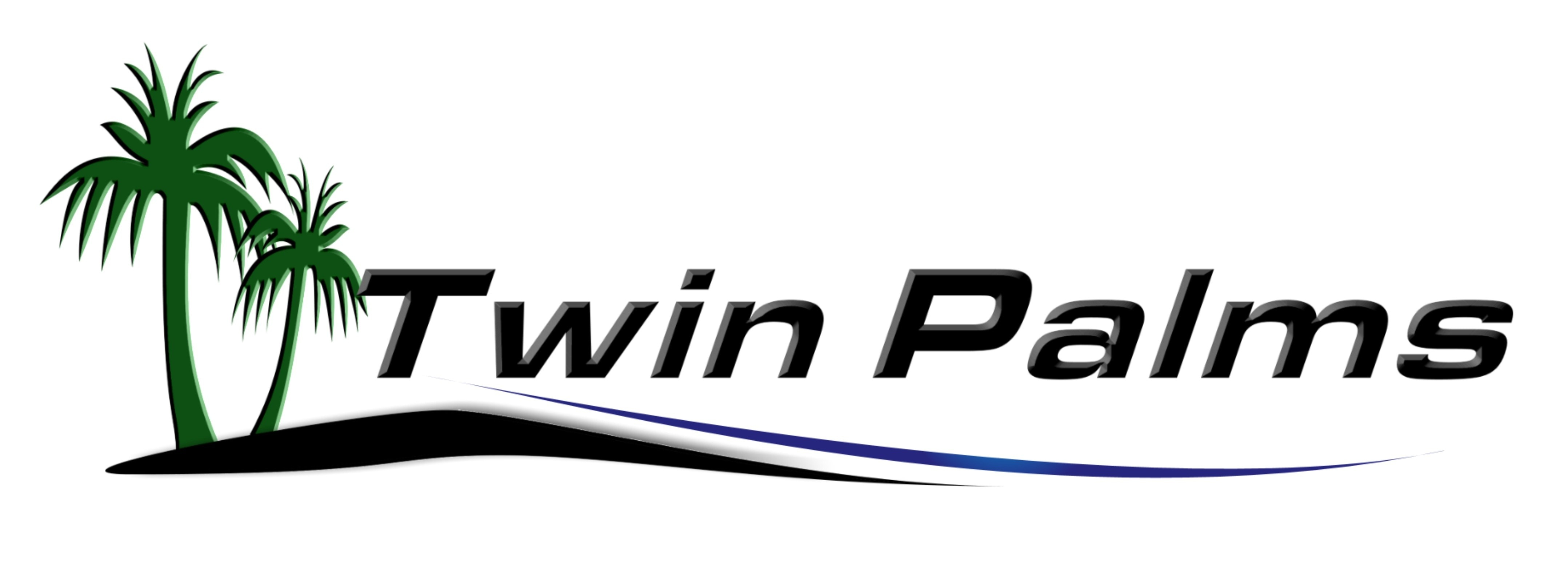 TWIN PALMS CARPET CLEANING logo
