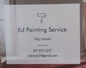 Ed Painting Services logo