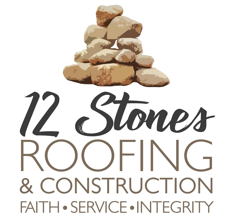 12 Stones Roofing logo