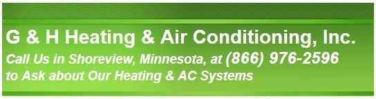 G & H HEATING & AIR CONDITIONING logo