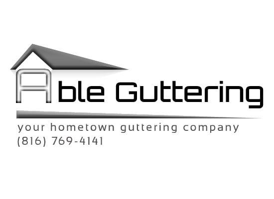 Able Guttering logo